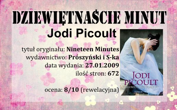 Jodi Picoult - Dziewiętnaście minut