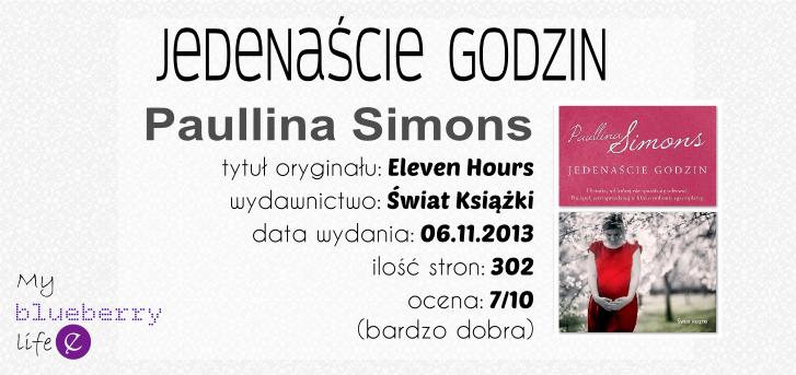 Paullina Simons- Jedenaście godzin