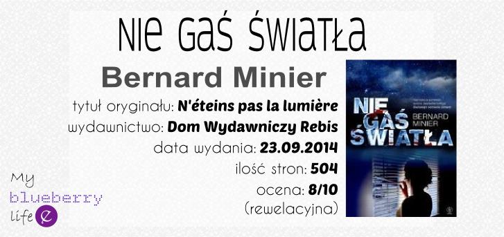 Bernard Minier - Nie gaś światła