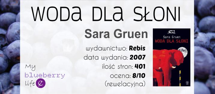 Sara Gruen - Woda dla słoni