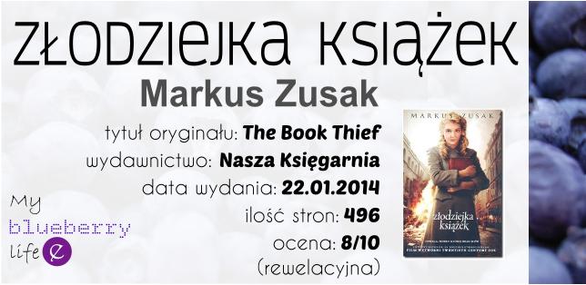 Markus Zusak- Złodziejka książek