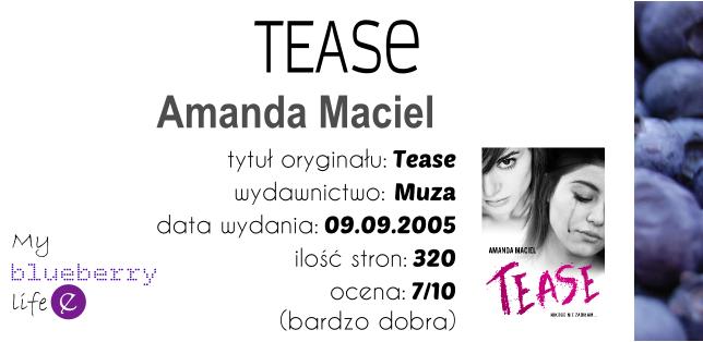 PRZEDPREMIEROWO! Amanda Maciel - Tease