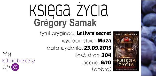 Grégory Samak - Księga Życia