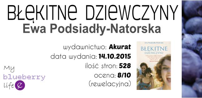 Ewa Podsiadły-Natorska - Błękitne dziewczyny