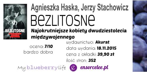 Agnieszka Haska, Jerzy Stachowicz - Bezlitosne. Najokrutniejsze kobiety dwudziestolecia międzywojennego