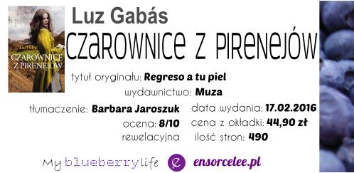 PRZEDPREMIEROWO! Luz Gabas - Czarownice z Pirenejów