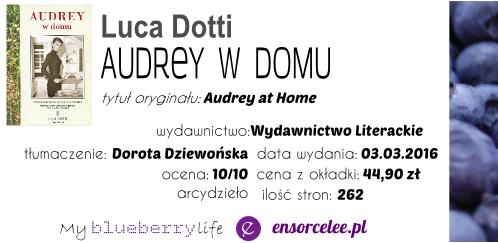 Premiera! Luca Dotti - Audrey w domu