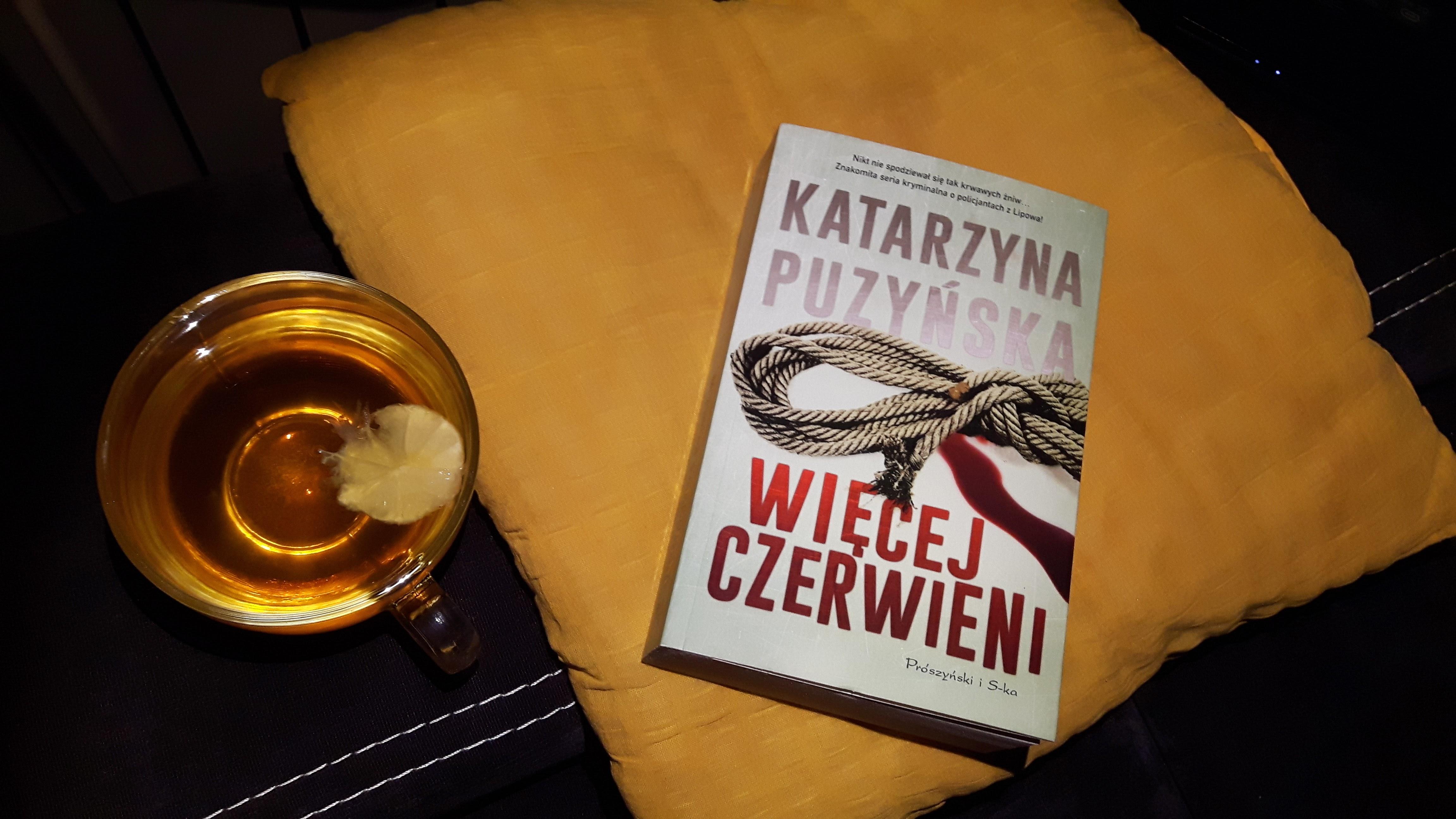 """Katarzyna Puzyńska """"Więcej czerwieni"""""""