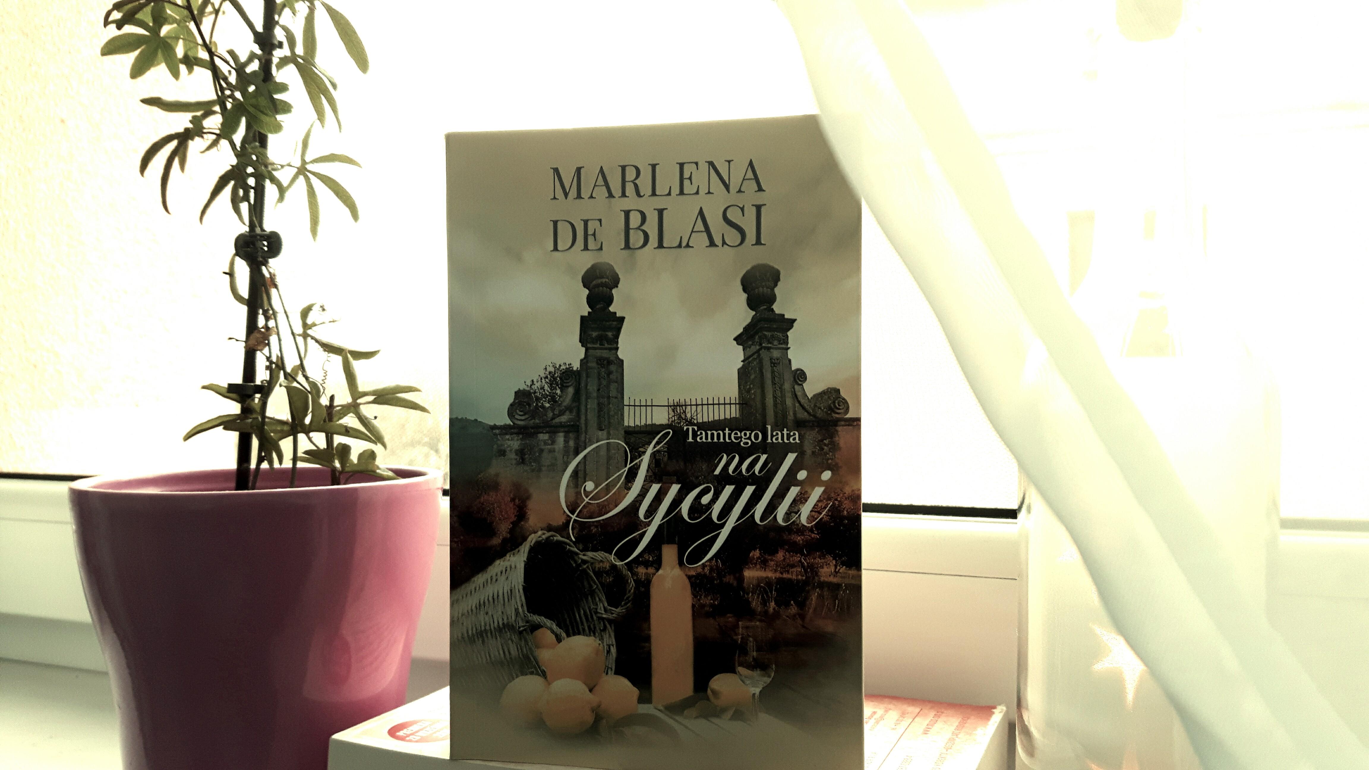 "Marlena de Blassi ""Tamtego lata na Sycylii"""