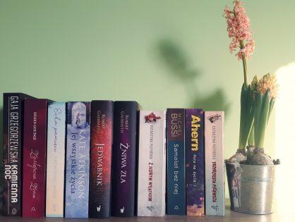 10 moich książek, które chcę wreszcie przeczytać