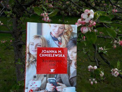 """Joanna M. Chmielewska """"Karminowy szal"""""""