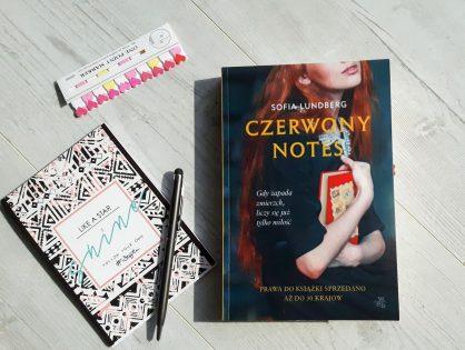 """Sofia Lundberg """"Czerwony notes"""" #przedpremierowo"""
