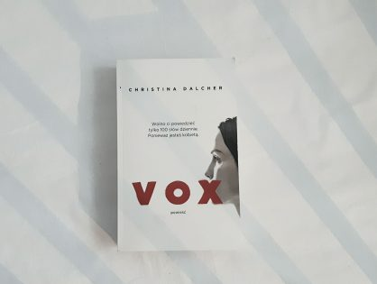 """Christina Dalcher """"Vox"""""""