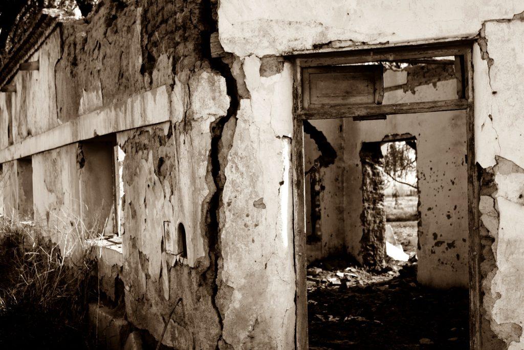 kształt ruin