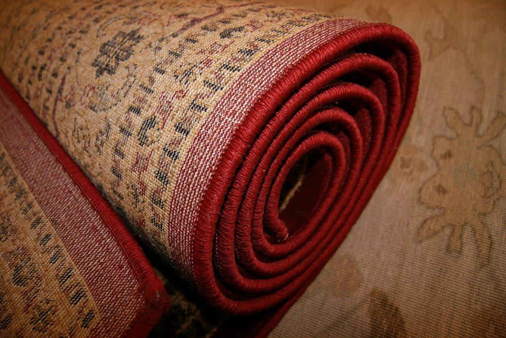 dywan z wkładką